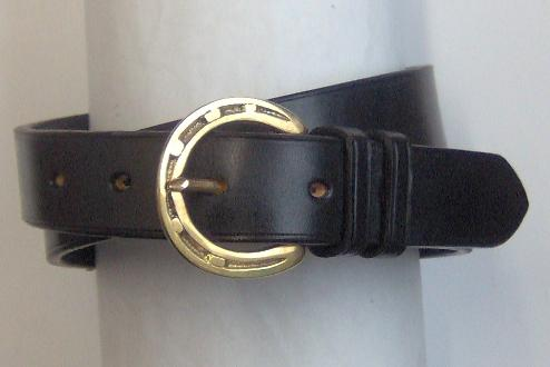 Lincoln Handmade English leather belt